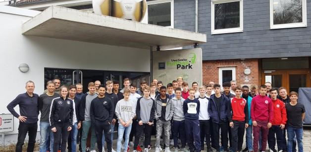 DFB-Junioren im USFP zu Gast