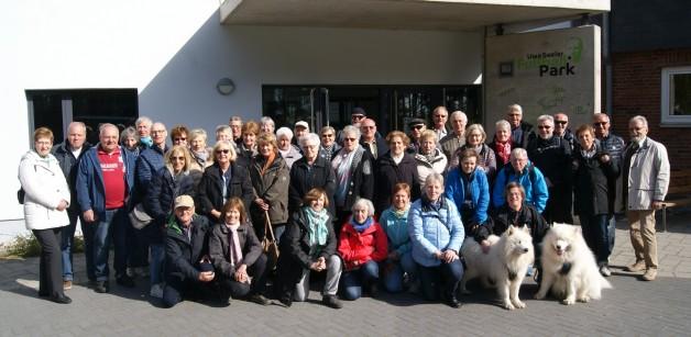Königsblauer Besuch im Uwe Seeler Fußball Park