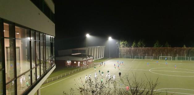 Wir haben die modernste Flutlichtanlage Norddeutschlands!