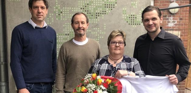 40. Dienstjubiläum von Bärbel Schulz